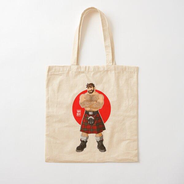 ADAM LIKES KILTS - SHIRTLESS Cotton Tote Bag