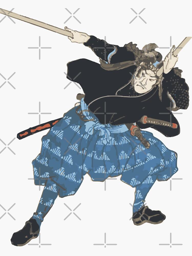 Miyamoto Musashi Samurai Warrior Art by Polishthestone
