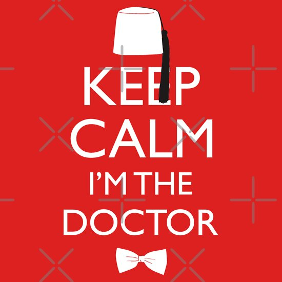 TShirtGifter presents: Keep Calm I'm The Doctor