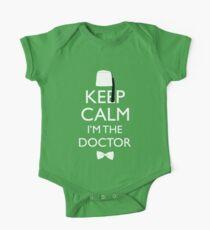 Keep Calm I'm The Doctor One Piece - Short Sleeve