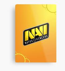 NaVi Metal Print