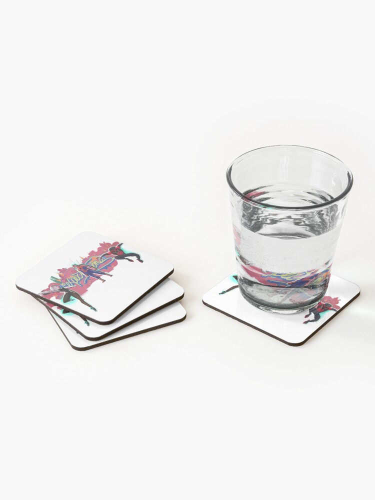 Alternate view of No Expectations Coasters (Set of 4)