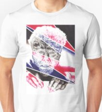 The Wolfman, a ball point pen portrait. Unisex T-Shirt
