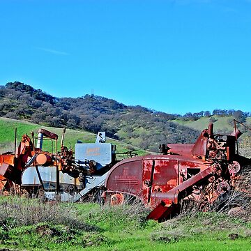 Rusting Combines by BaldUgly1