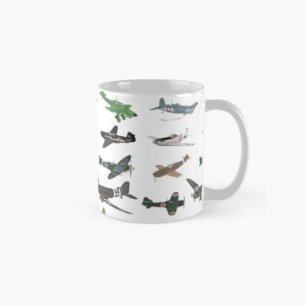 Multiple WW2 Airplanes Classic Mug