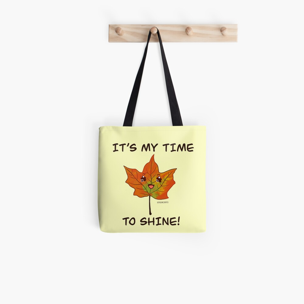 The Star of Autumn Tote Bag