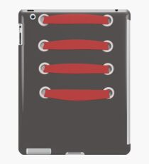 laced up red  iPad Case/Skin