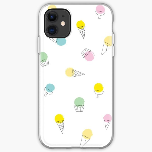 Ice cream time! iPhone Soft Case