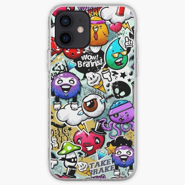 graffiti fun iPhone Soft Case