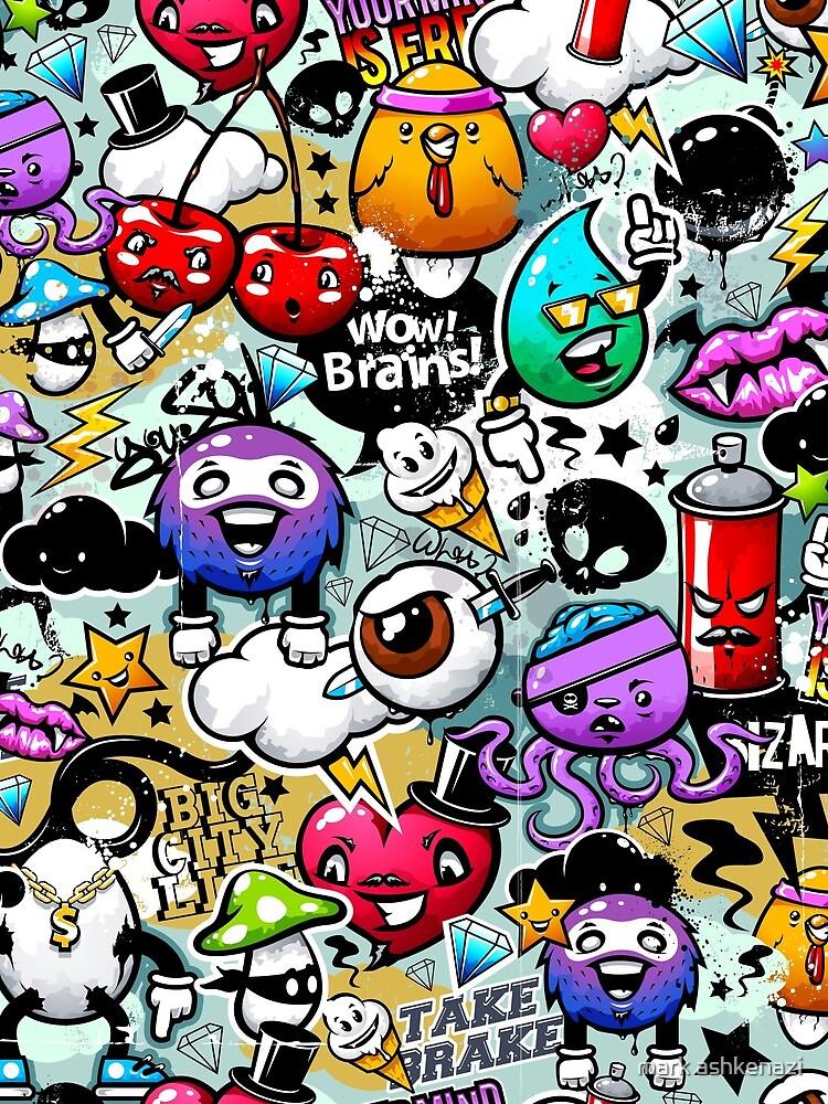 graffiti fun by motiashkar