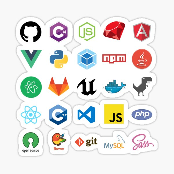 Developer Sticker Bundle Sticker