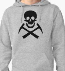 Skull & Cross Pick Hammers Pullover Hoodie