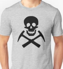 Skull & Cross Pick Hammers T-Shirt