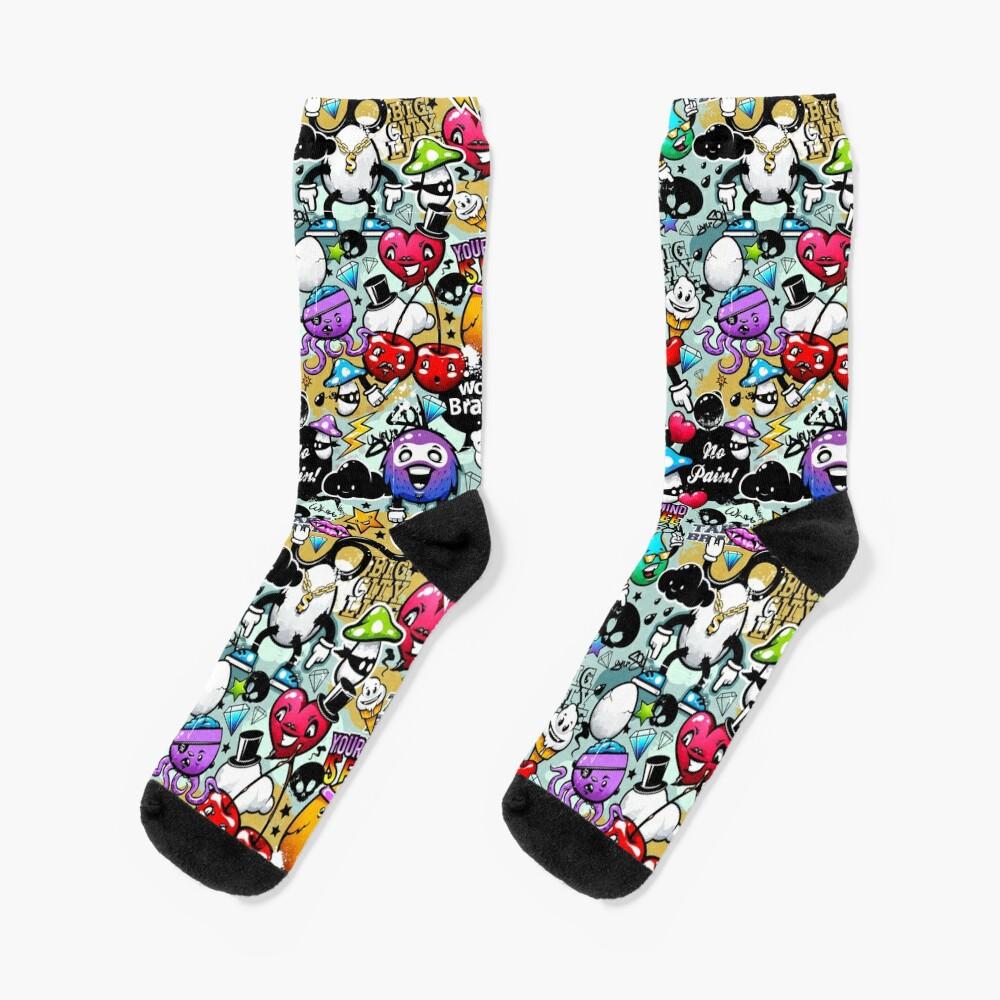 graffiti fun Socks