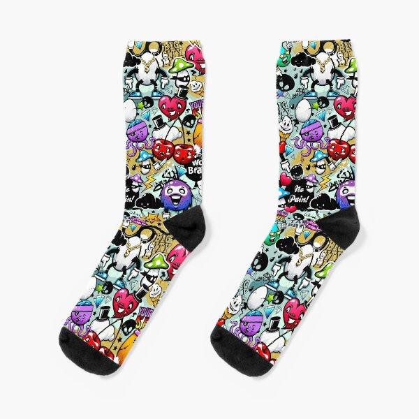 Graffiti-Spaß Socken