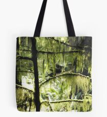 Moss and sunlight Tote Bag
