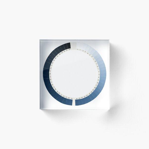 Cyanometer  Acrylic Block