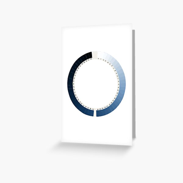 Cyanometer  Greeting Card