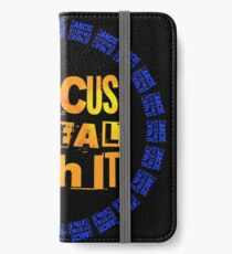 MARCUS says DEAL WITH IT - III iPhone Wallet/Case/Skin