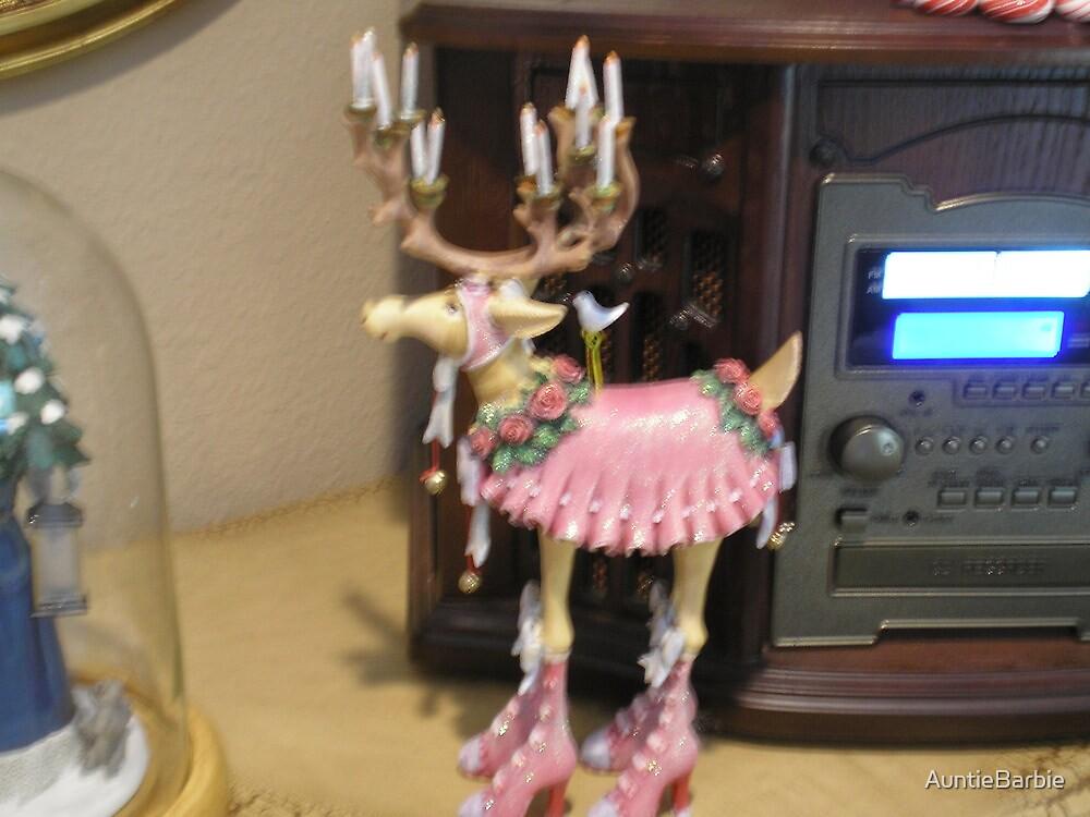 Dancing reindeer by AuntieBarbie