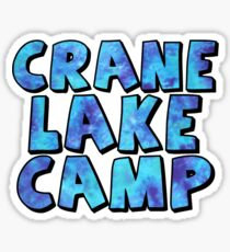 Crane Lake Camp Galaxy Sticker