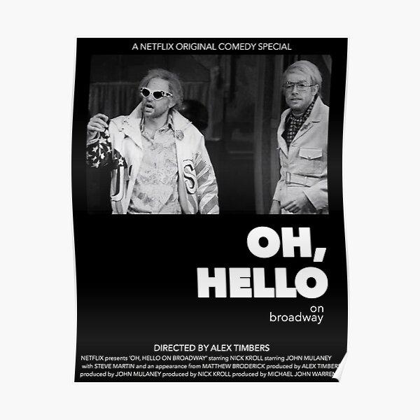 Oh, póster de película de estilo Hello A24 - Indie - póster inspirado en Down By Law Póster
