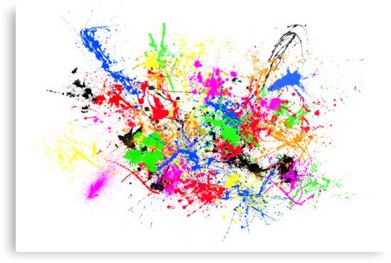 Paint Splats by Rowan Schoon