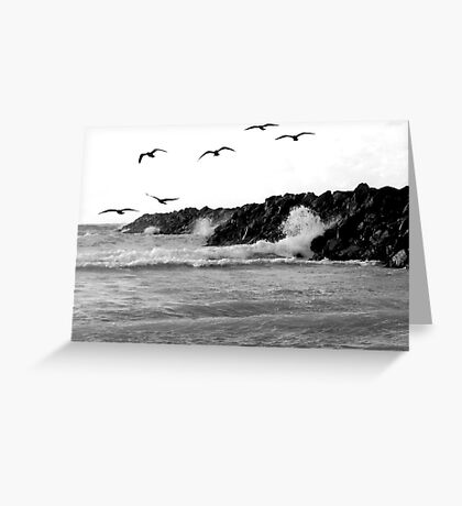 when life crashes around us, we can still fly Greeting Card