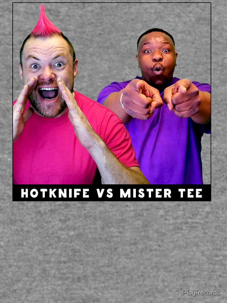 Hotknife vs Mister Tee by PlayRecords