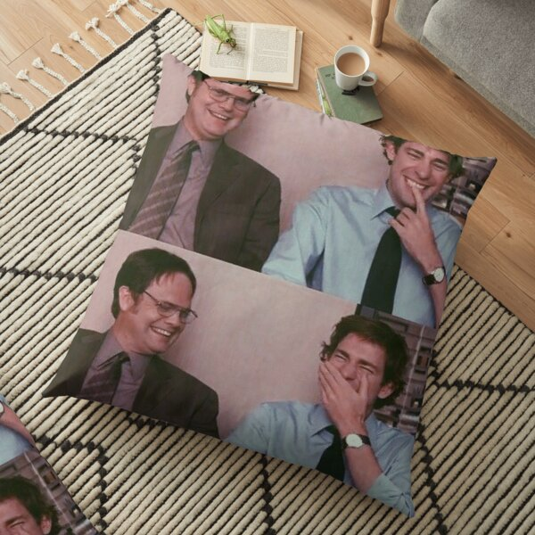 Dwight and Jim Floor Pillow