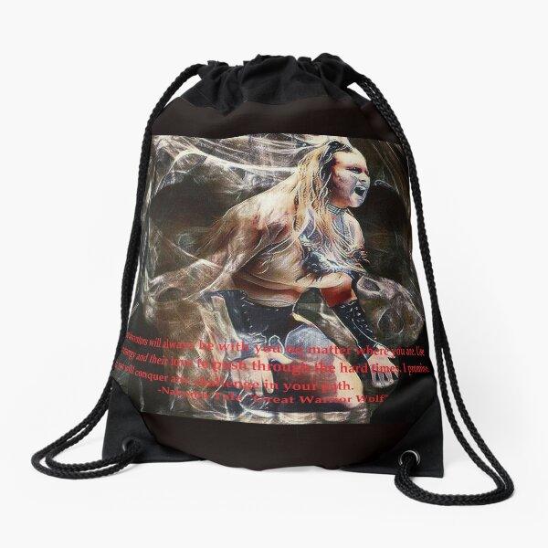 Nakoma Tala (My ancestors will always be with me) Drawstring Bag