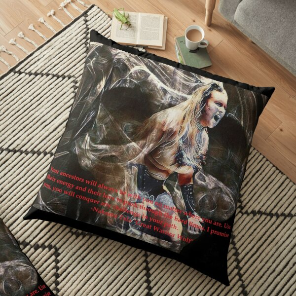 Nakoma Tala (My ancestors will always be with me) Floor Pillow