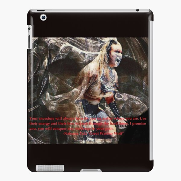 Nakoma Tala (My ancestors will always be with me) iPad Snap Case
