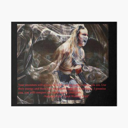Nakoma Tala (My ancestors will always be with me) Art Board Print