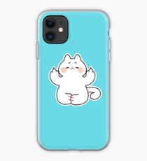 "Meditating ""F**K YOU"" Cat iPhone Case"