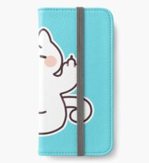 "Meditating ""F**K YOU"" Cat iPhone Wallet/Case/Skin"