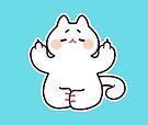 "Meditating ""F**K YOU"" Cat by Bumcchi"