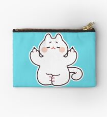 "Meditating ""F**K YOU"" Cat Zipper Pouch"