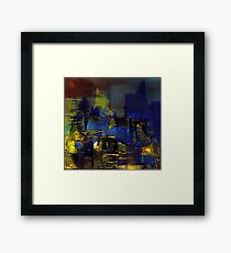 night Framed Print