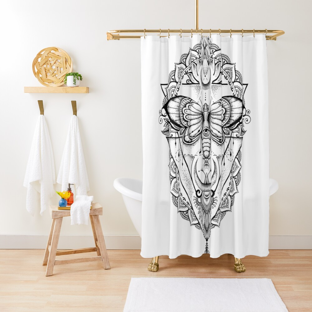 Fly With Me ! Shower Curtain