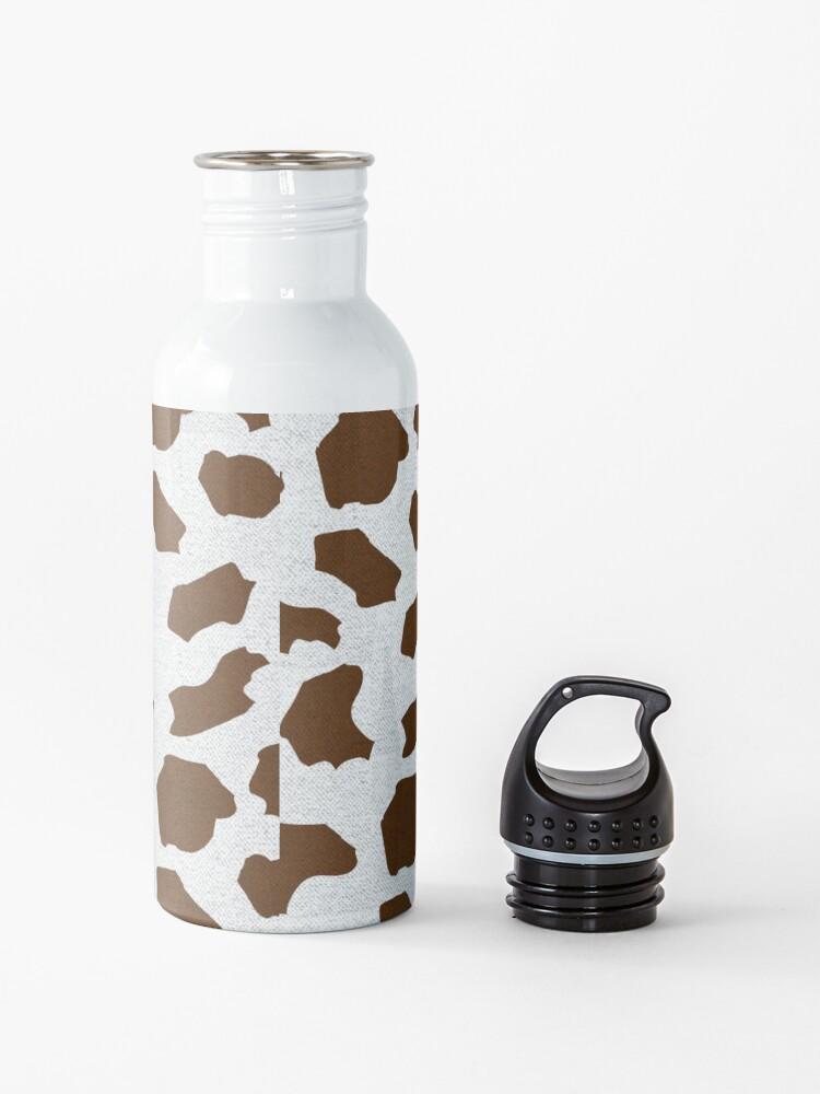 Alternate view of Brown Cow Spots Pattern Water Bottle