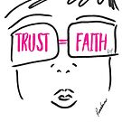 TRUST FAITH (Pink) by Roxana Frontini