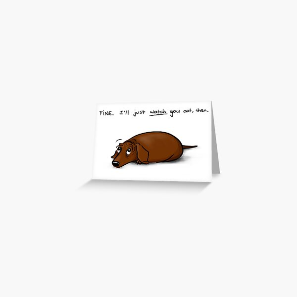 The Look w/ text Greeting Card