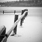 Frozen lake by henrikn