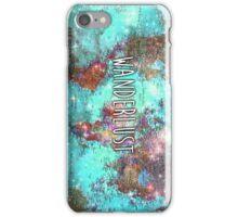 Wanderlust iPhone Case/Skin