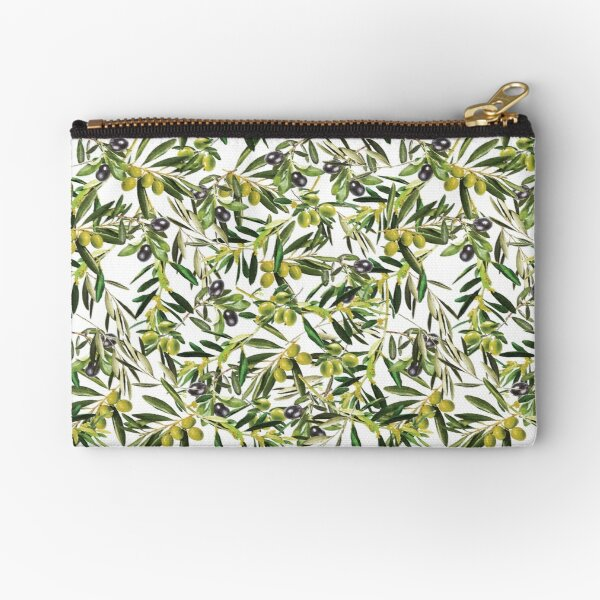 Olive tree Zipper Pouch
