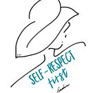 SELF-RESPECT FIRST (Aqua) by Roxana Frontini