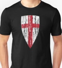 Crusader Knights Templar Cross Unisex T-Shirt
