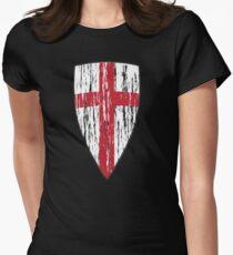 Camiseta entallada Crusader Knights Templar Cross