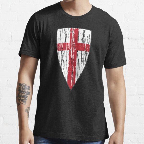 Crusader Knights Templar Cross Essential T-Shirt
